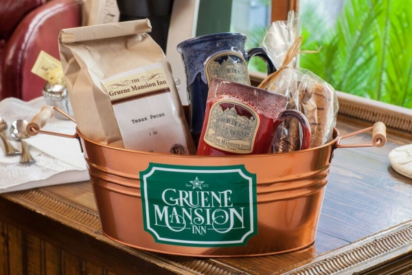 Gruene Mansion Inn Coffee Basket